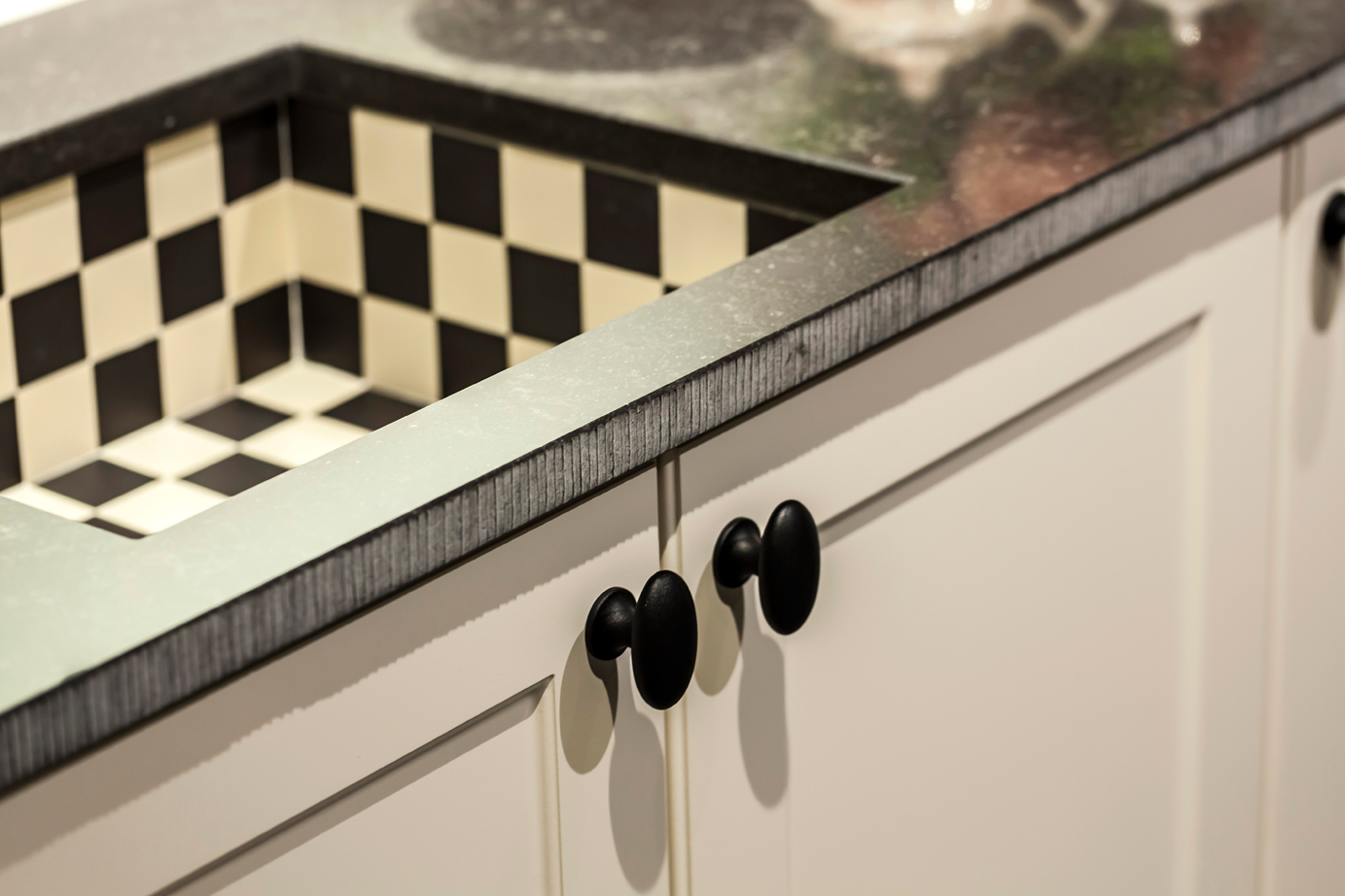 Handgrepen Keuken Zwart : Leren handgreep zwart m leren handgrepen lussen