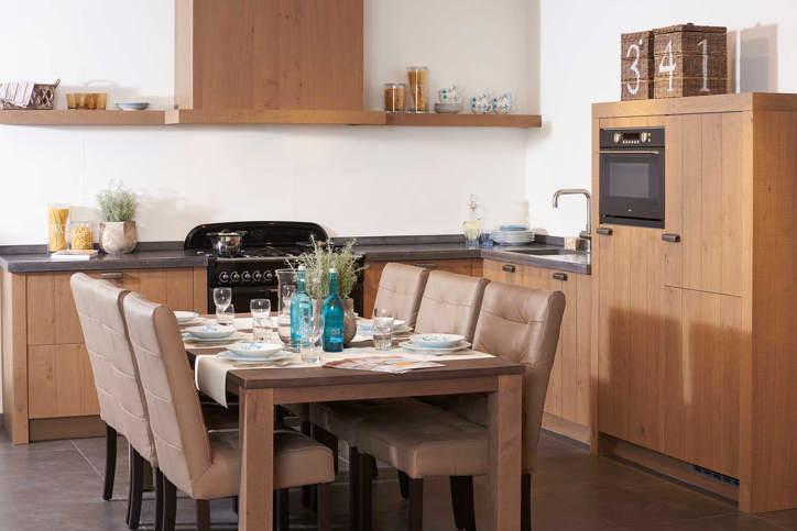 Houten keukens geven warmte en een natuurlijk sfeer! pelma