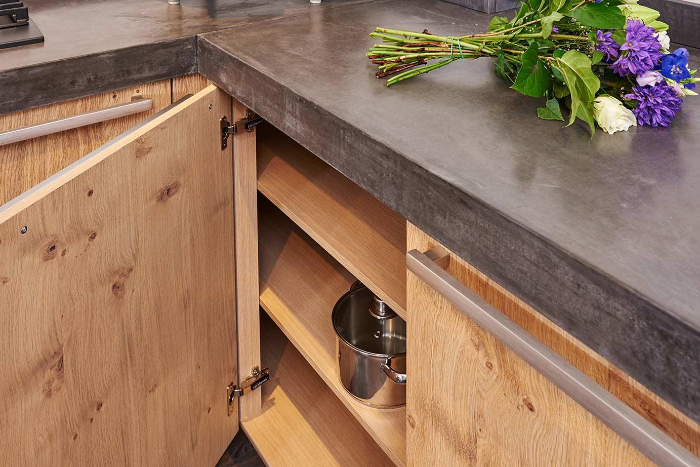 Houten keukens geven warmte en een natuurlijk sfeer pelma