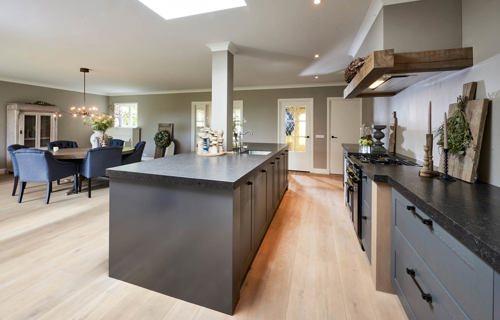Landelijk moderne keuken met eiland in zeeland lees klantervaring pelma - In het midden eiland keuken ...